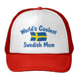 La mamá sueca más fresca gorras de camionero