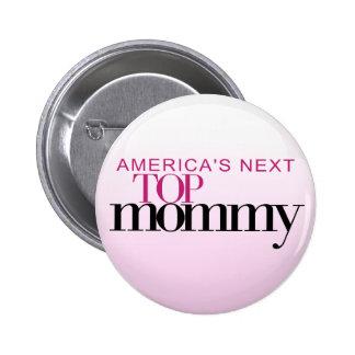 La mamá superior siguiente de América Pin Redondo 5 Cm