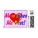 ¡La mamá tiene gusto de mí mejor! Sellos rosados d