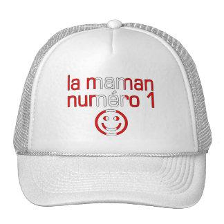 La Maman Numéro 1 - mamá del número 1 en canadiens Gorra