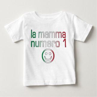 La Mamma Numero 1 ( Number 1 Mom in Italian ) Baby T-Shirt