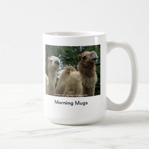 La mañana asalta #2 tazas de café