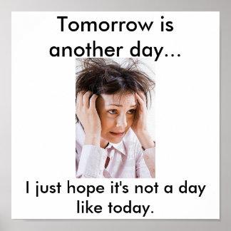 La mañana es otro día… póster
