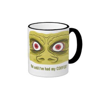 La mañana observa la taza