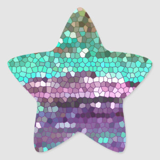 La mañana se ha roto calcomanías forma de estrellaes personalizadas