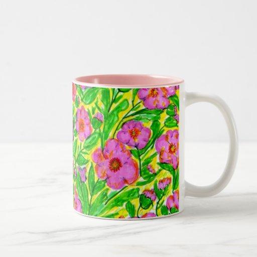 La mañana soleada SM213 florece la taza