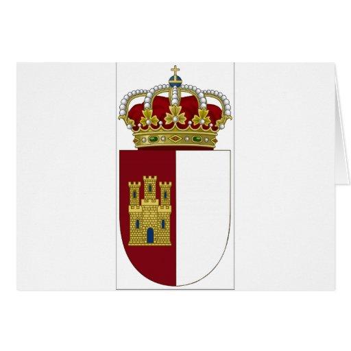 La Mancha (España) de Castilla Tarjetón
