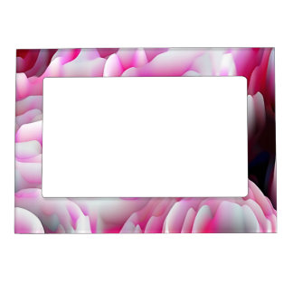la mancha florece el rosa (i) marcos magneticos para fotos