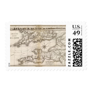 La Manche Postage Stamp
