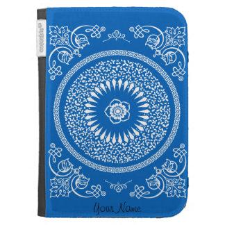 La mandala india azul inspiró el modelo
