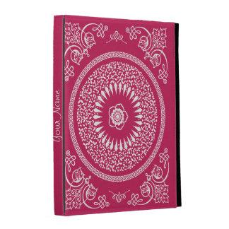 La mandala india del rosa y blanca inspiró el mode