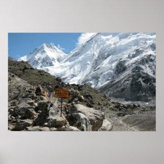 La manera al monte Everest Póster