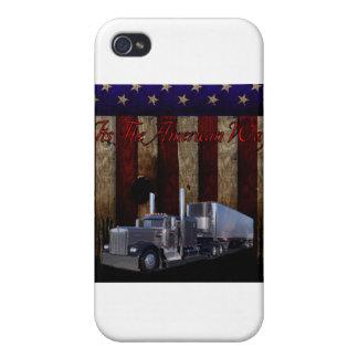 La manera americana iPhone 4/4S funda