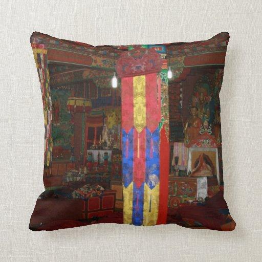 La manera budista de confortar y relajación cojin