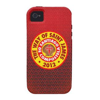 La manera de San Jaime 2012 Case-Mate iPhone 4 Fundas