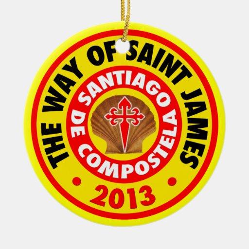 La manera de San Jaime 2013 Ornamentos De Reyes Magos