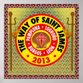 La manera de San Jaime 2013 Póster