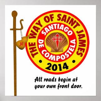 La manera de San Jaime 2014 Póster