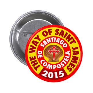La manera de San Jaime 2015 Pin Redondo 5 Cm