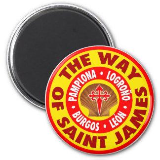 La manera de San Jaime Imán Redondo 5 Cm