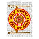 La manera de San Jaime Tarjeta