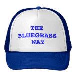 La manera del Bluegrass Gorros Bordados