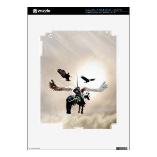 La manera del guerrero iPad 3 pegatinas skins