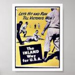 La manera interior para los E.E.U.U. Poster