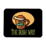 La manera irlandesa imán