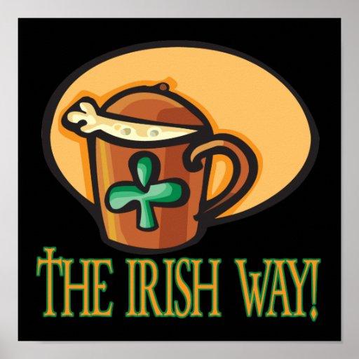 La manera irlandesa impresiones