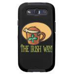 La manera irlandesa samsung galaxy s3 fundas