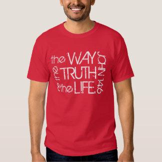 La manera la verdad y la camiseta del 14:6 de Juan Camisas