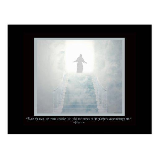 La manera religiosa postales