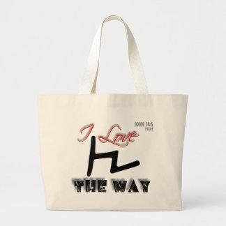 La manera (Tsade) Bolsa Tela Grande