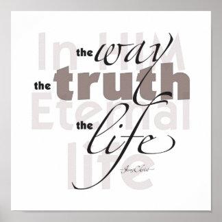 La manera • Verdad • Vida Impresiones