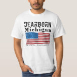 La manga corta de los hombres - Dearborn, MI - Poleras