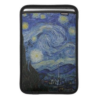 La manga de aire de Macbook de la noche estrellada Fundas MacBook