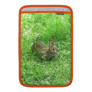 La manga del amor del conejito cree * funda para macbook air