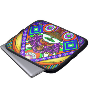 La manga del ordenador portátil de la arca del árb mangas computadora