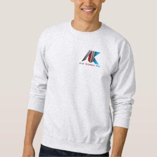 La manga larga pide la camiseta del coche AK Suéter