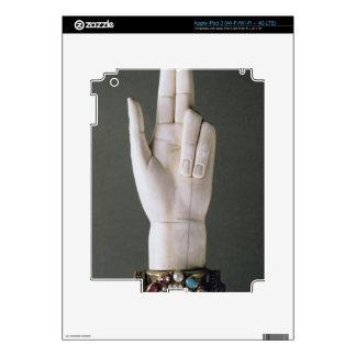 La mano de la justicia, del tesoro de St. Deni iPad 3 Skin