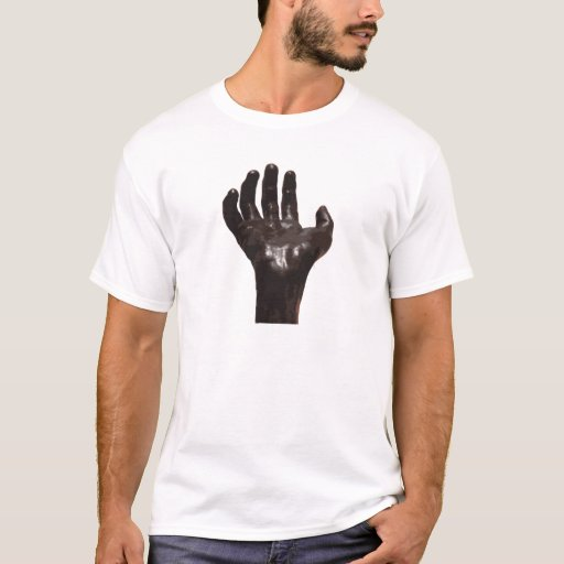 La mano de Rodin Playera