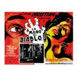 La Mano Del Diablo Postcard