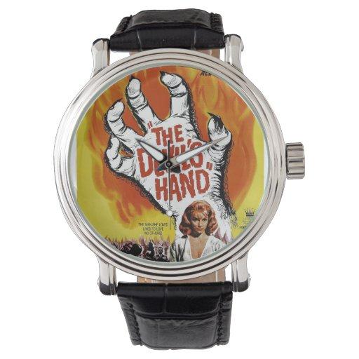 La mano del diablo relojes de mano