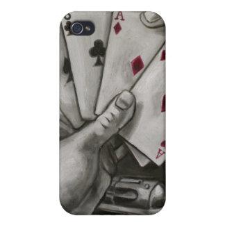 La mano del hombre muerto iPhone 4 funda