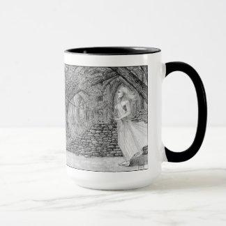 La mano del sino taza