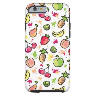 la mano dibujada da fruto modelo funda resistente iPhone 6