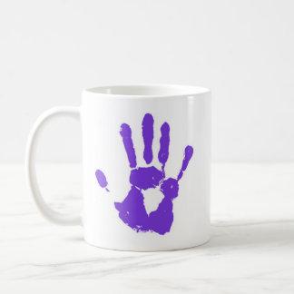 La mano púrpura taza clásica