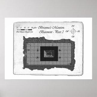 La mansión de Brianna (mapa de batalla de la parte Póster