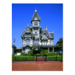 La mansión de Carson en Eureka, California Tarjetas Postales